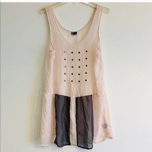 URBAN OUTFITTERS TUNIC DRESS SIZE L.